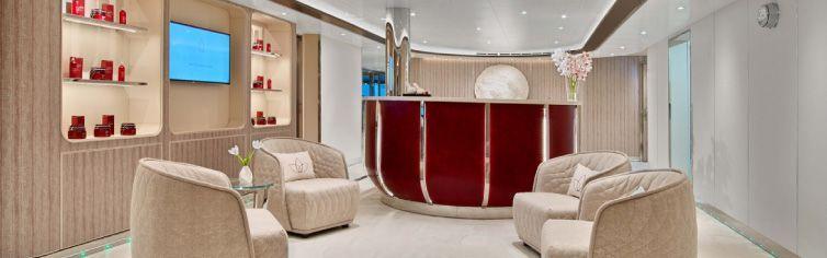 Spa du bateau de croisière Seabourn Ovation