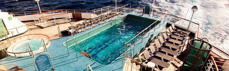 Piscine du bateau de croisière MS Prinsendam