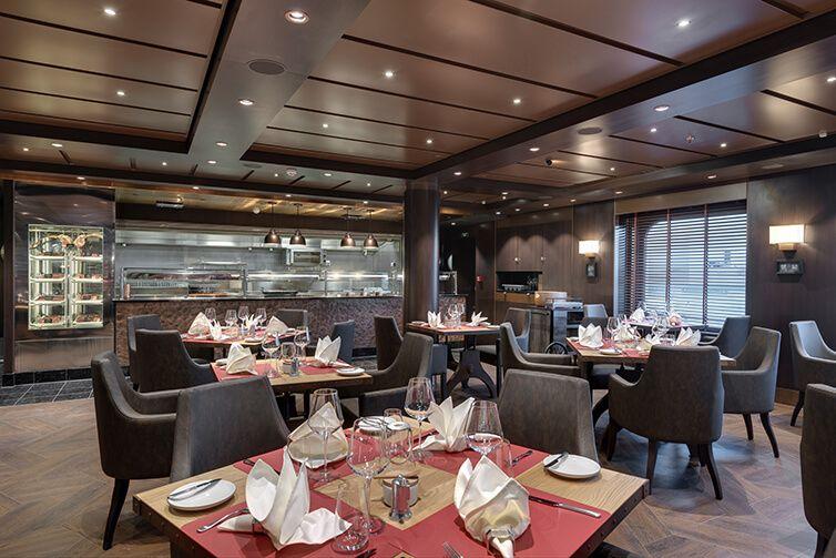 restaurant du bateau de croisière Msc Bellissima