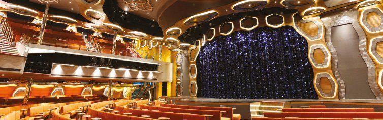 Théâtre du bateau de croisière Costa Diadema