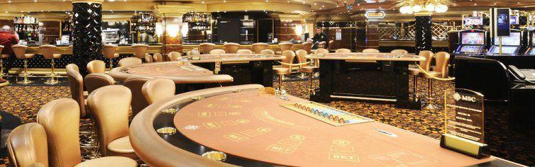 Casino du bateau de croisière MSC Preziosa