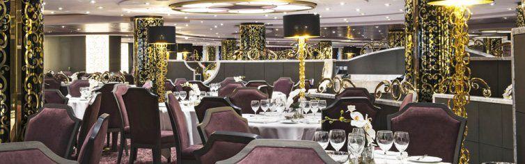 Restaurant du bateau de croisière MSC Preziosa