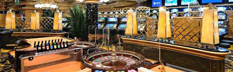 Casino du bateau de croisière MSC Splendida