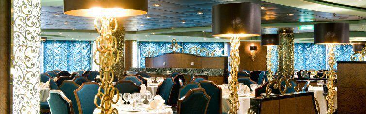 Restaurant du bateau de croisière MSC Splendida