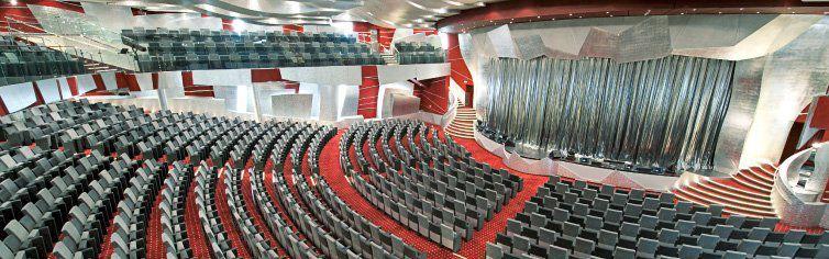 Théâtre du bateau de croisière MSC Fantasia