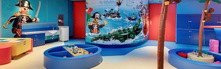 Espace dédié aux enfants du bateau de croisière MSC Seashore