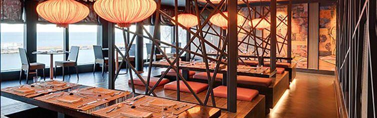 restaurant du bateau de croisière Msc Seashore