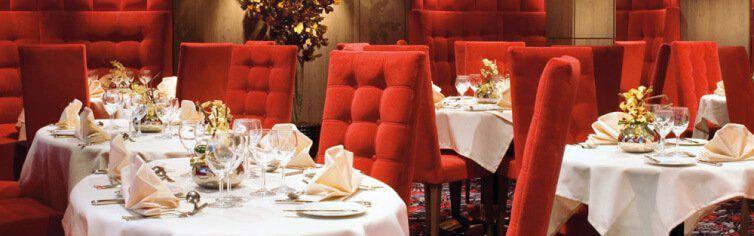 Restaurant du bateau de croisière MSC Musica