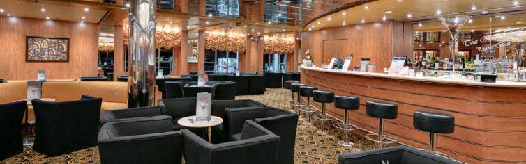 Bar du bateau de croisière MSC Armonia