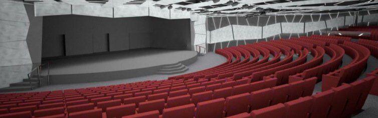 Théâtre du bateau de croisière MSC Meraviglia