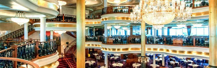 Restaurant du bateau de croisière Adventure of the Seas