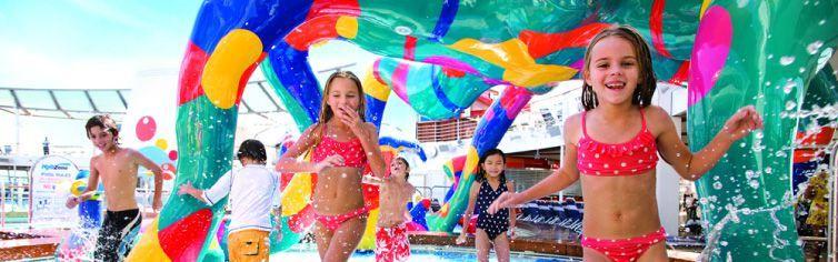 Club dédié aux enfants du bateau de croisière Allure of the Seas