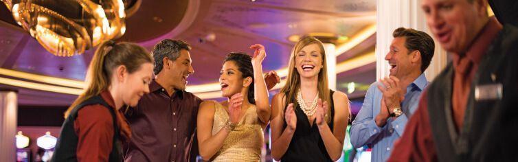 Le casino du bateau de croisière Celebrity Equinox