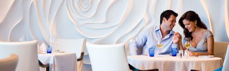 Restaurant Blu du bateau de croisière Celebrity Equinox