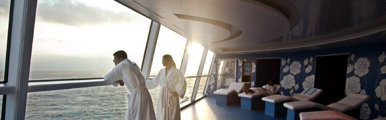 AquaSpa du bateau de croisière Celebrity Silhouette