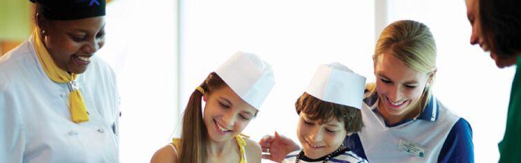 Club dédié aux enfants du bateau de croisière Celebrity Reflection