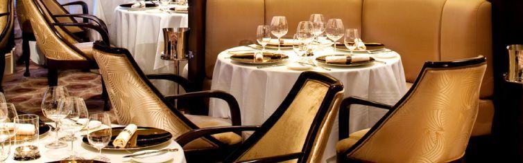 Restaurant Murano du bateau de croisière Celebrity Reflection