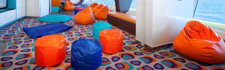 Club dédié aux enfants du bateau de croisière Celebrity Millenium