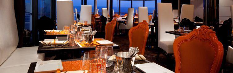 Restaurant du bateau de croisière Celebrity Millennium