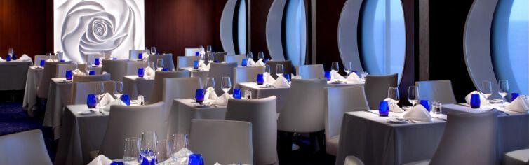 Restaurant Blu du bateau de croisière Celebrity Infinity