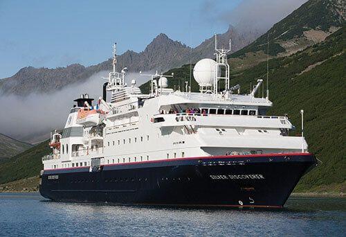 Le Bateau de croisière MV La Belle des Océans