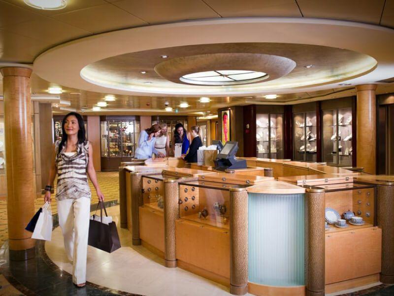 Boutique du bateau de croisière Celebrity Summit