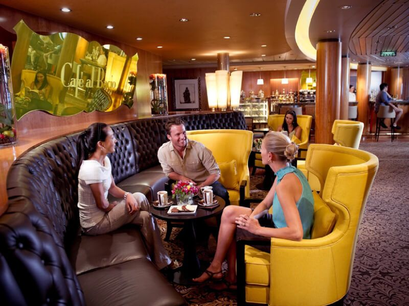 Café Al Bacio du bateau de croisière Celebrity Summit