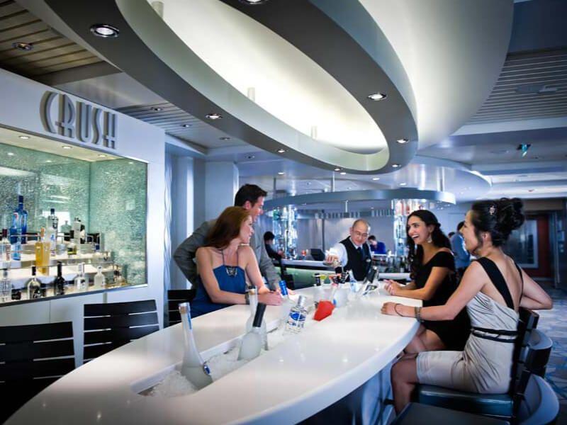 Crush Bar du bateau de croisière Celebrity Summit