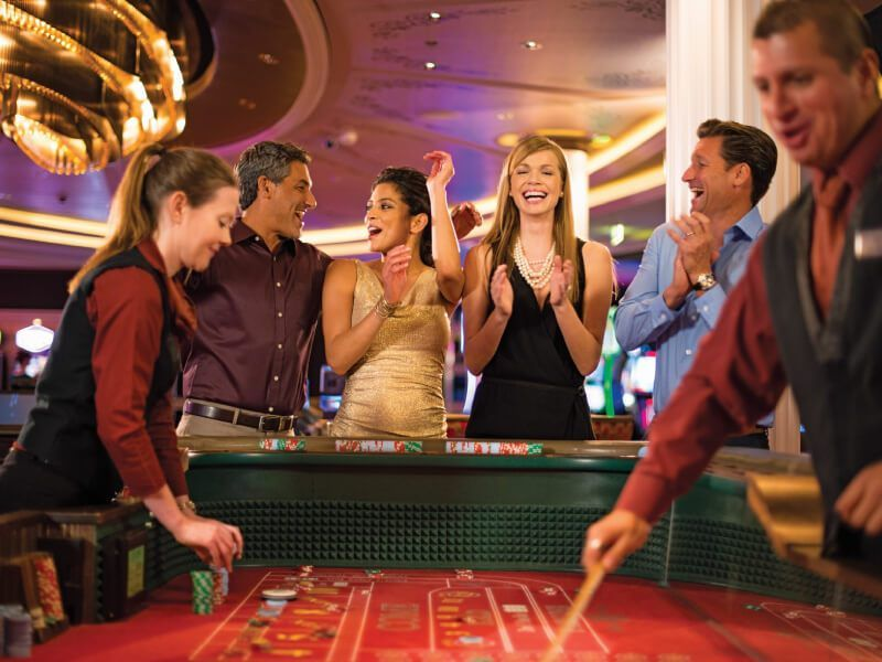 Casino du bateau de croisière Celebrity Constellation