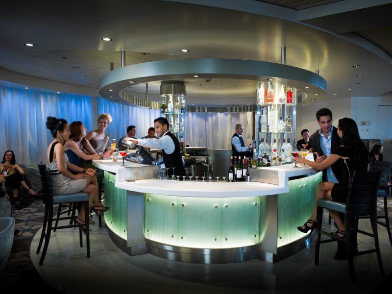 Le Martini Bar du bateau de croisière Celebrity Constellation