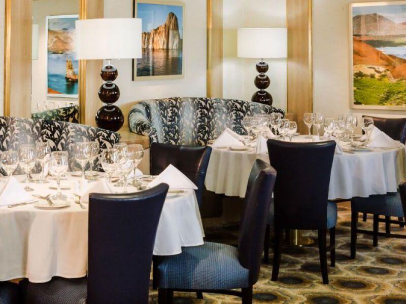 Restaurant Darwins du bateau de croisière Celebrity Xpedition
