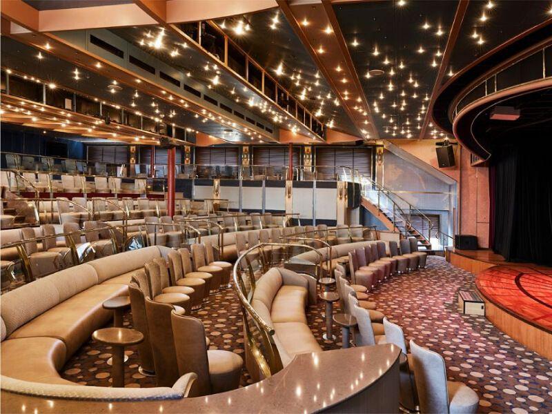 Explorer Lounge du bateau de croisière Silver Cloud