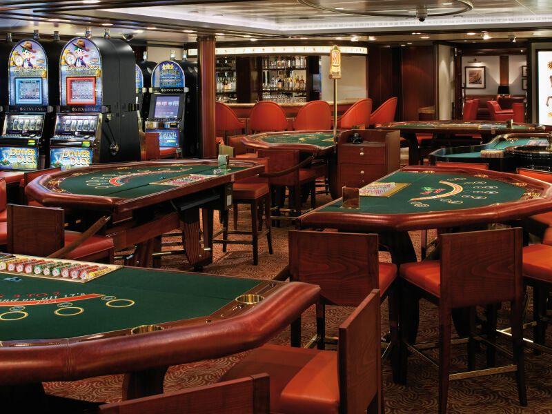 Casino du bateau de croisière Silver Spirit