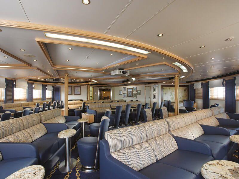 EXPLORER Lounge du bateau de croisière Silver Galapagos