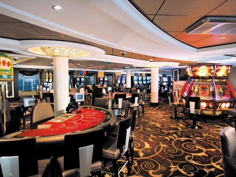 Casino du bateau de croisière Norwegian Epic