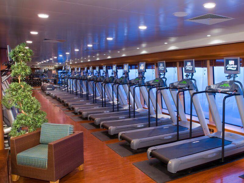Club Fitness du bateau de croisière Norwegian Jade
