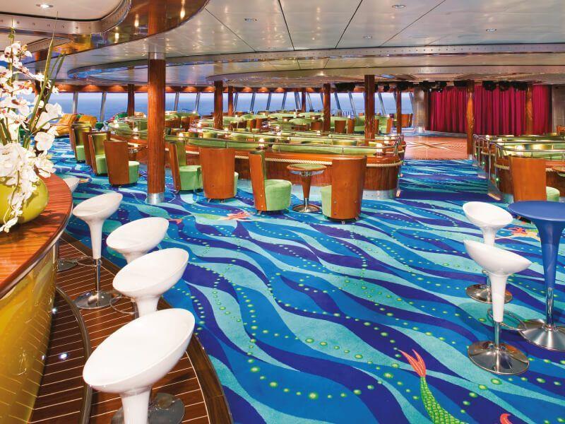 Spinnaker Lounge du bateau de croisière Norwegian Jade