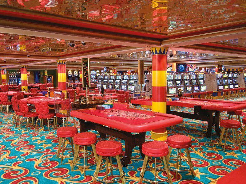 Casino du bateau de croisière Norwegian Jewel