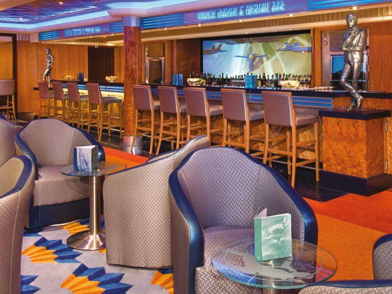 Martini bar du bateau de croisière Norwegian Jewel