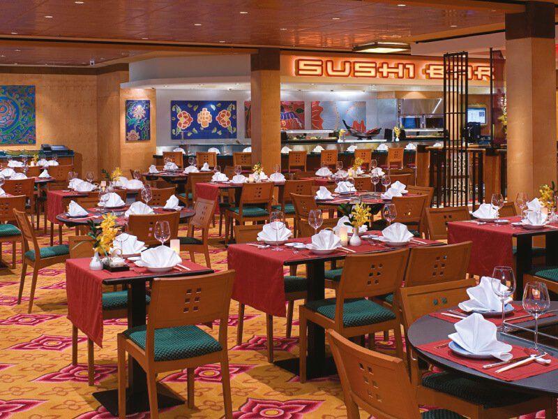 Sushi Bar du bateau de croisière Norwegian Jewel