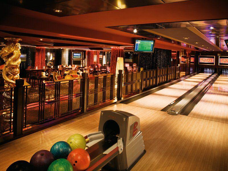 Bowling du bateau de croisière Norwegian Pearl