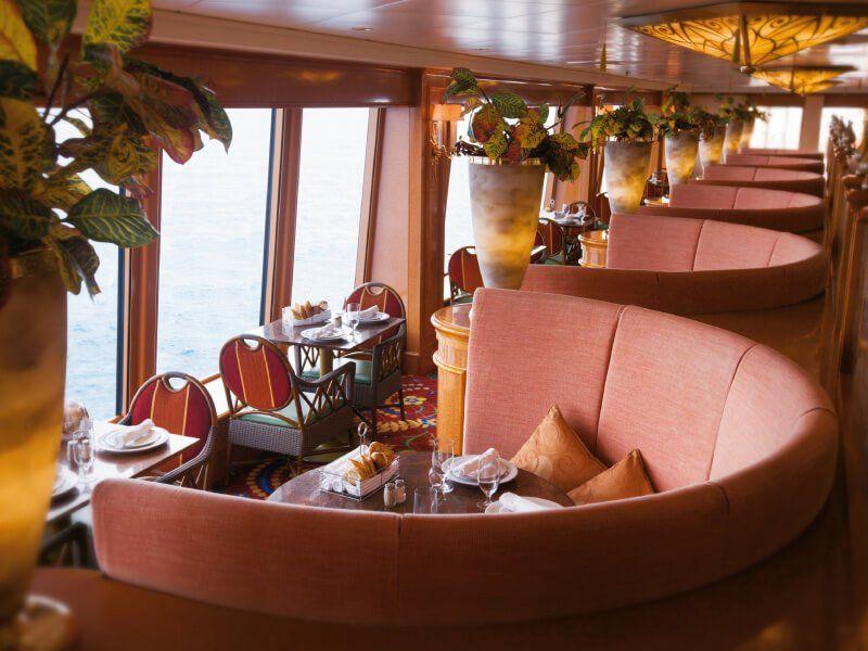 Garden Café du bateau de croisière Norwegian Pearl