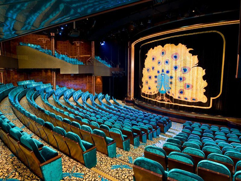 Salle de Théâtre Stardust du bateau de croisière Norwegian Pearl