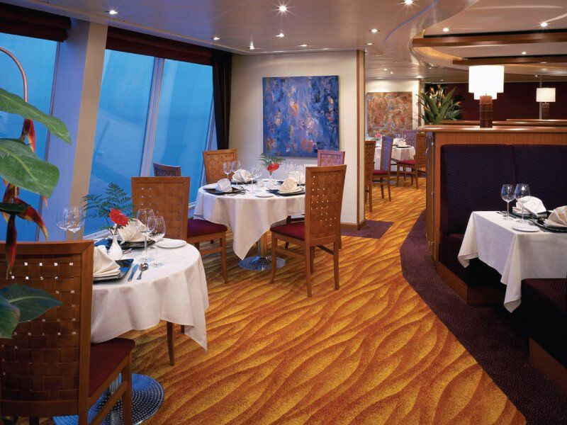 Restaurant Adagio du bateau de croisière Norwegian Sky