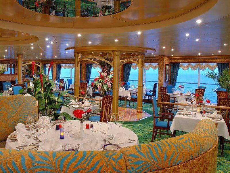 Le Cagneys Steackhouse du bateau de croisière Norwegian Sky