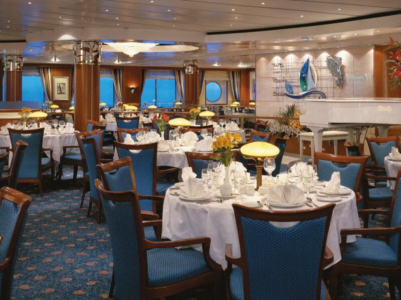 Crossings Restaurant du bateau de croisière Norwegian Sky