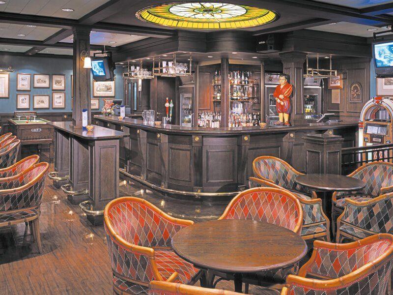 Le Henrys Pub du bateau de croisière Norwegian Spirit