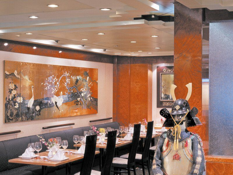 Sushi Bar du bateau de croisière Norwegian Spirit