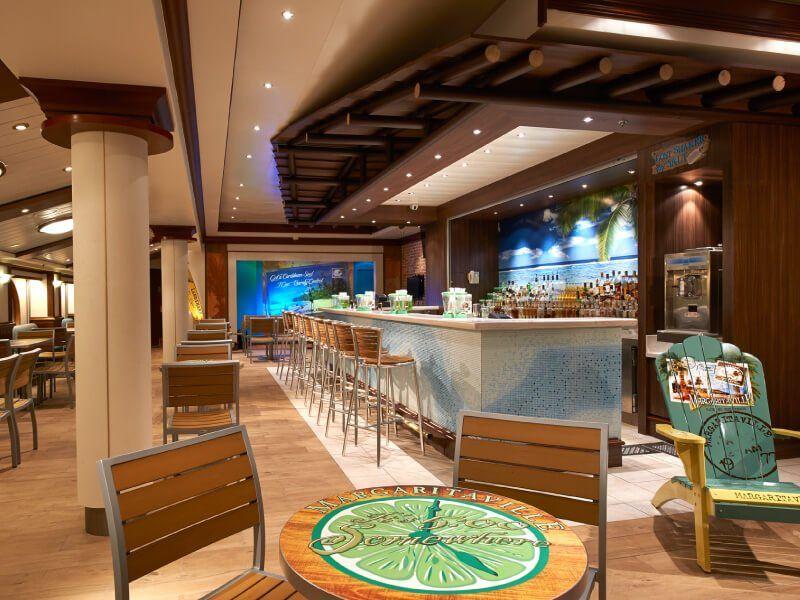 50 Clock Bar du bateau de croisière Norwegian Star