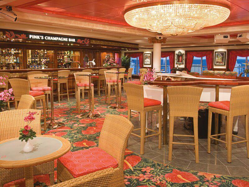 Bar à Cigares du bateau de croisière Pride of America